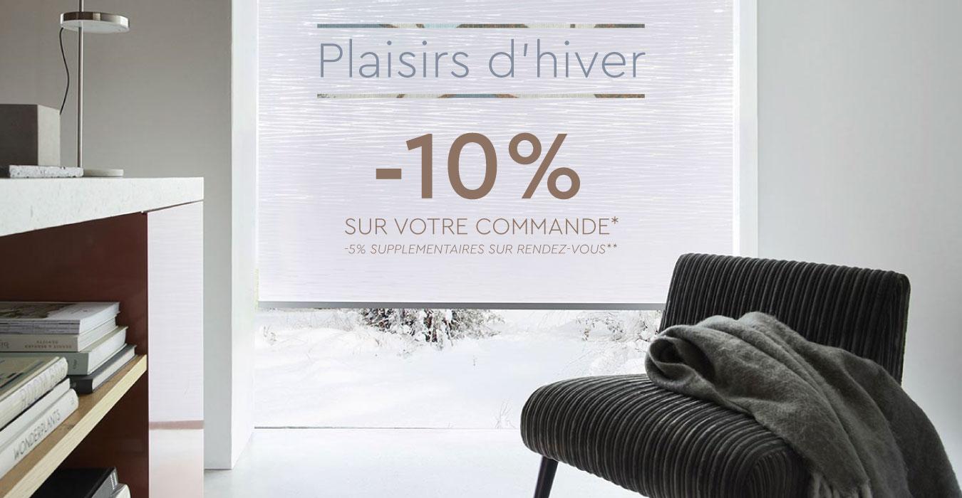 Plaisirs d'hiver -10% sur votre commande